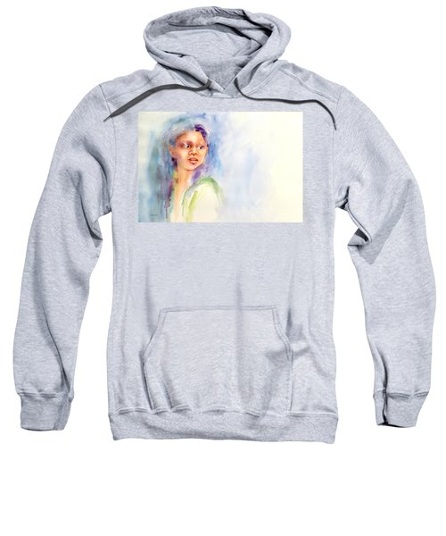 Young Woman Sweatshirt