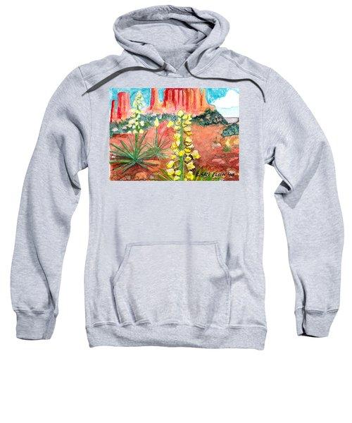 Yucca In Monument Valley Sweatshirt