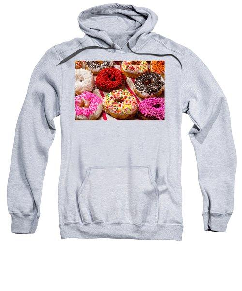 Yummy Donuts Sweatshirt