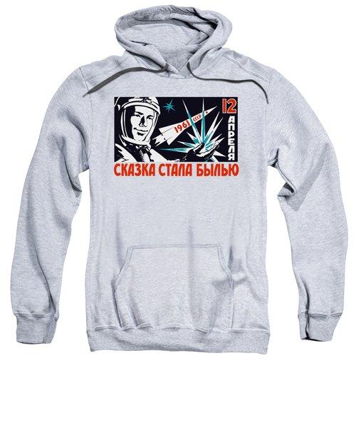 Yuri Gagarin - Vintage Soviet Space Propaganda Sweatshirt