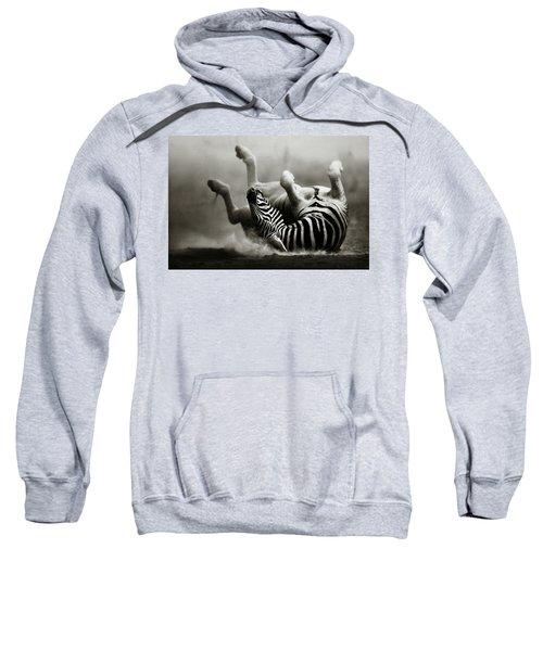 Zebra Rolling Sweatshirt