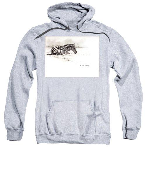 Zebra Sketch Sweatshirt