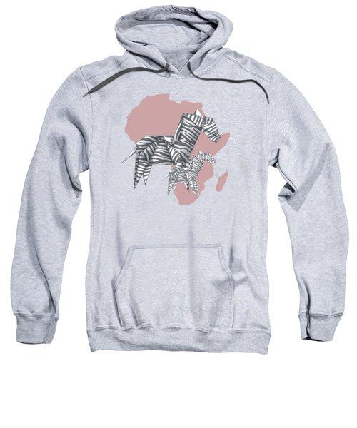 Zebras Sweatshirt by Absentis Designs