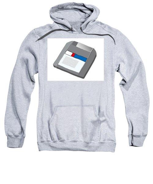 Zip Disk Sweatshirt