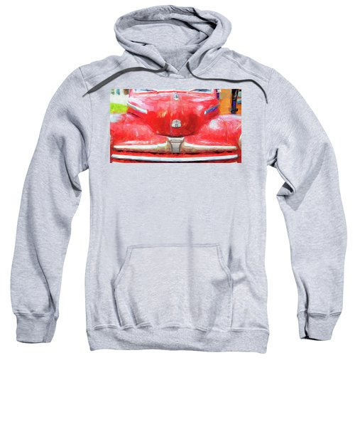1947 Ford Super Deluxe Coupe 006 Sweatshirt