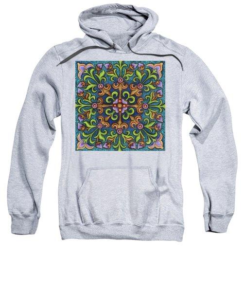 Botanical Mandala 8 Sweatshirt