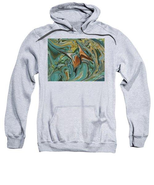 Bronze Butterfly Sweatshirt