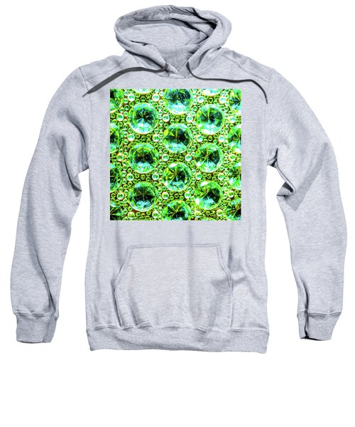 Cut Glass Beads 2 Sweatshirt