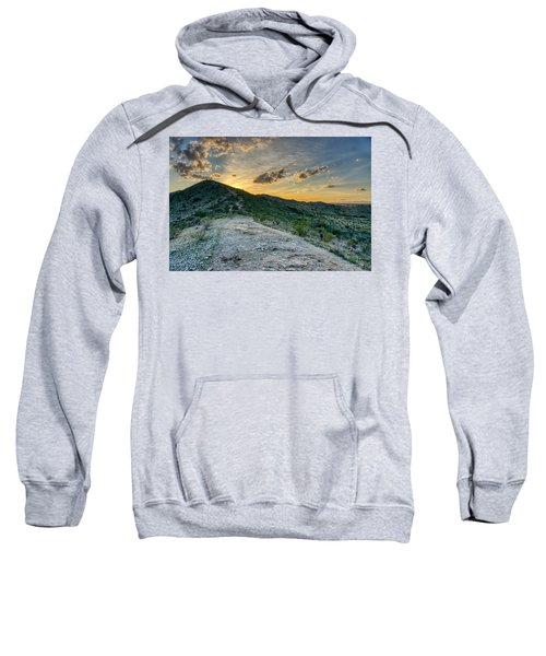 Dramatic Mountain Sunset  Sweatshirt