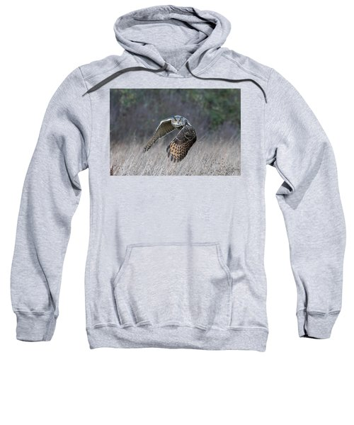 Eurasian Eagle Owl Flying Sweatshirt