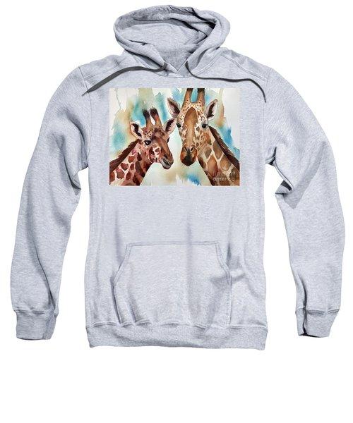 Giraffes Sweatshirt