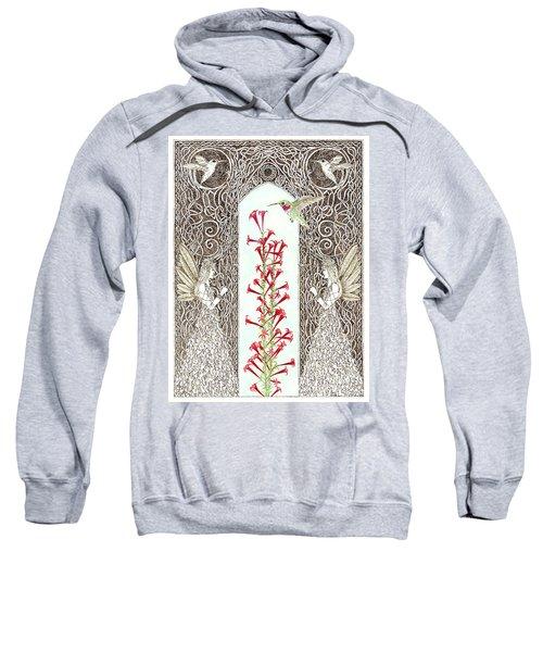 Hummingbird Sanctuary Sweatshirt