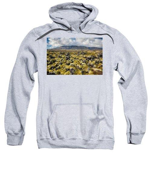 Lava Field Of Iceland Sweatshirt