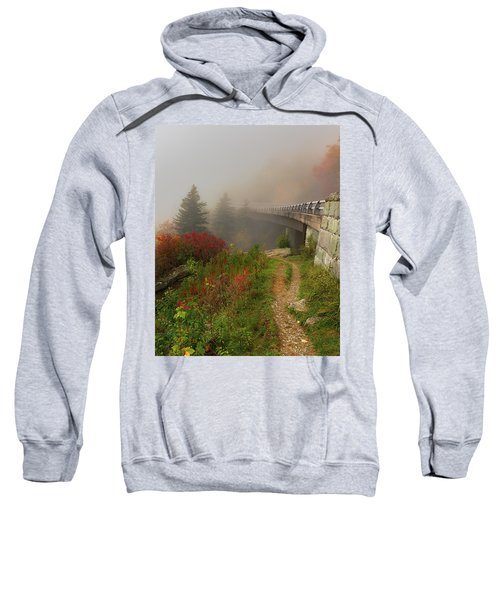 Linn Cove Viaduct - Blue Ridge Parkway Sweatshirt