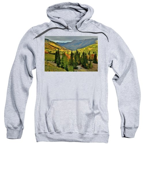 Looking North From Red Mountain Pass Sweatshirt