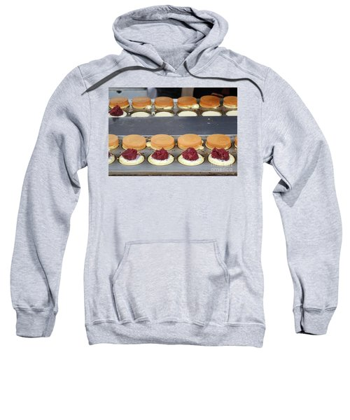 Making Red Bean Cakes Sweatshirt