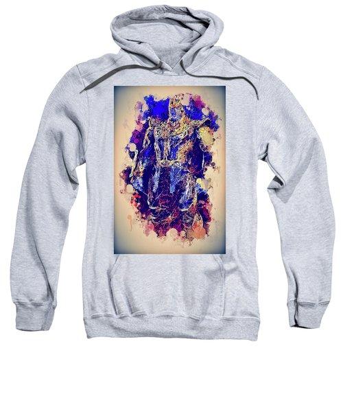 Thanos Watercolor Sweatshirt