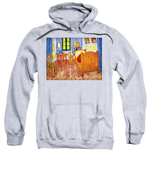 Van Gogh's Bedroom Sweatshirt