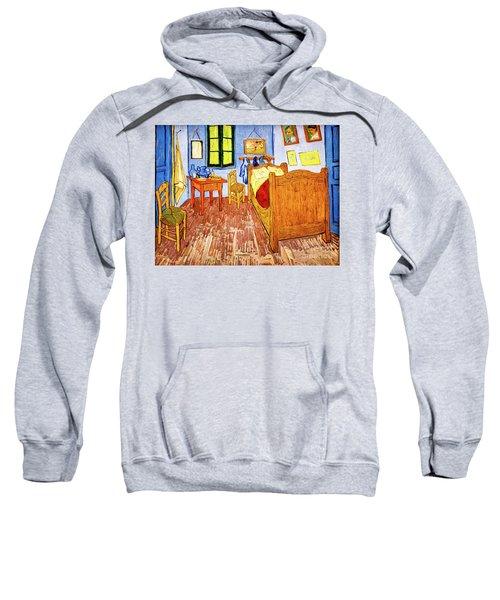 Van Gogh's Bedroom Sweatshirt