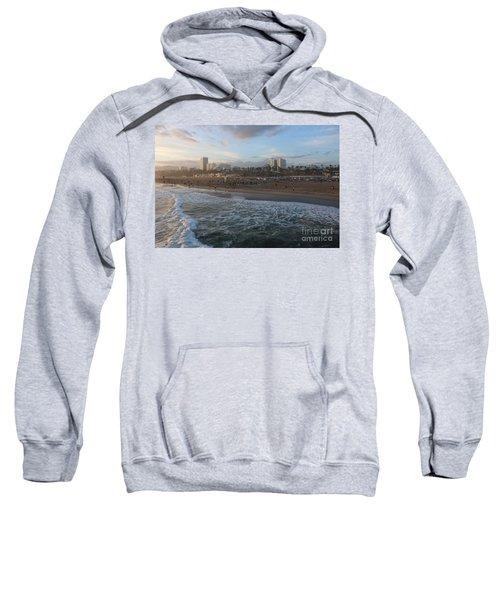 Pacific Sunset , Santa Monica, California Sweatshirt
