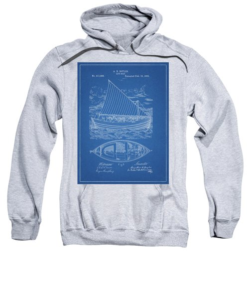 1885 Life Boat Patent Sweatshirt
