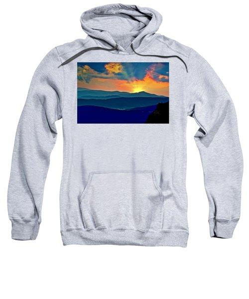 Blue Ridge Mountains Sunset Sweatshirt