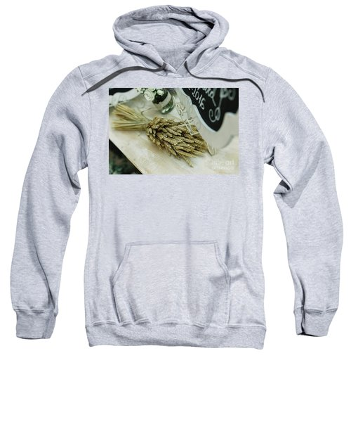 Floral Decorations In The Spaces Of A Wedding Restaurant. Sweatshirt