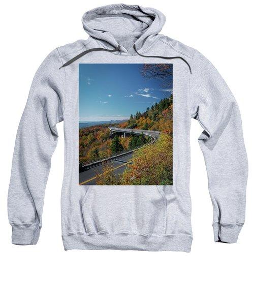 Linn Cove Viaduct - Blue Ridge Parkway Sweatshirt