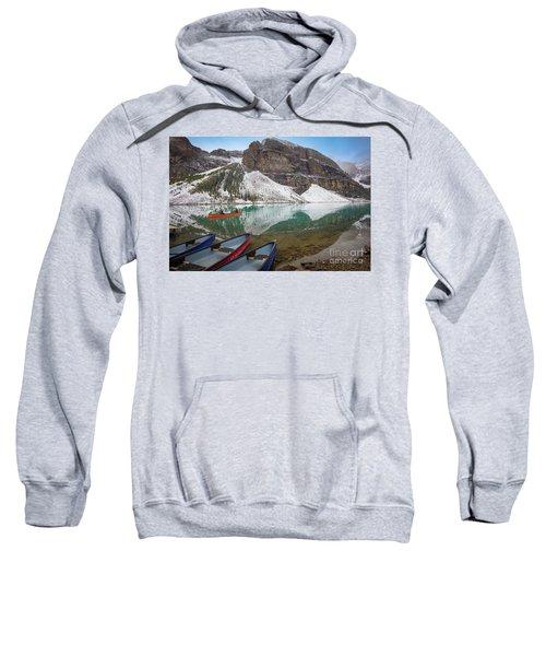Moraine Lake Canoes Sweatshirt