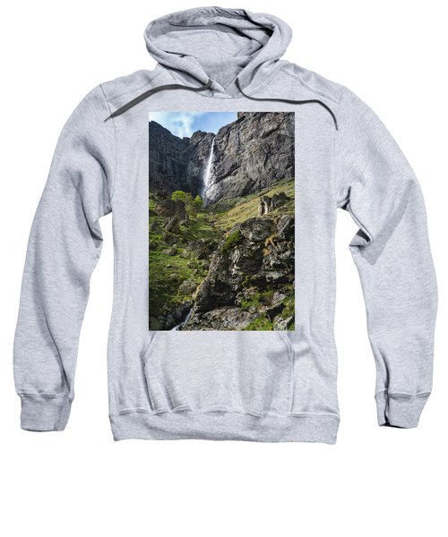 Raysko Praskalo Waterfall, Balkan Mountain Sweatshirt