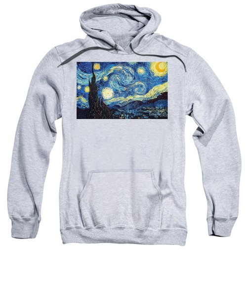 Starry Night By Van Gogh Sweatshirt