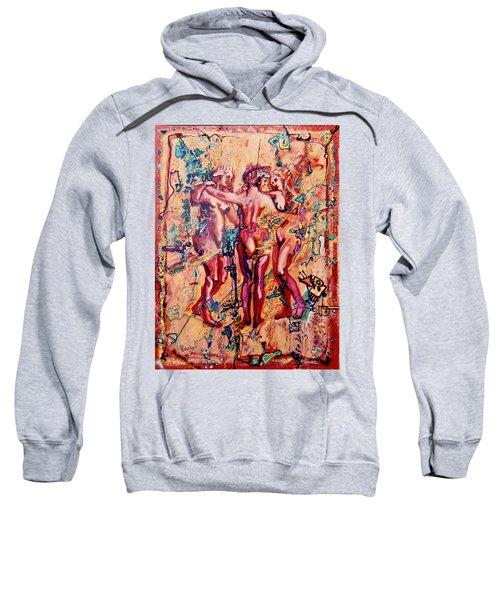 3 Virgins - Rubens, Airbrush 1990 Sweatshirt
