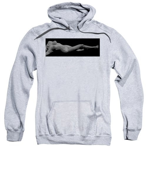 5298 Zebra Woman H Sweatshirt