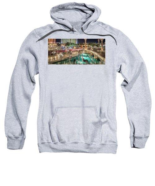 View Of The Venetian Hotel Resort And Casino Sweatshirt