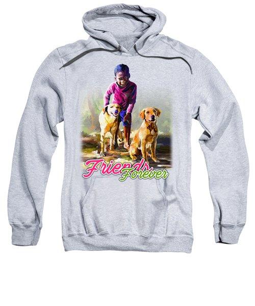Boy And His Dogs Sweatshirt