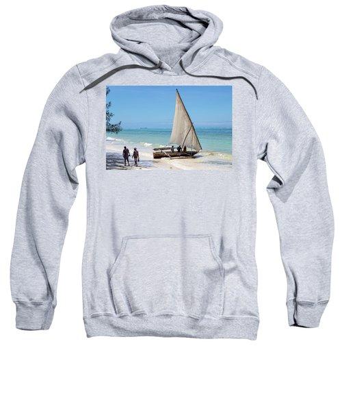 A Dhow In Zanzibar Sweatshirt