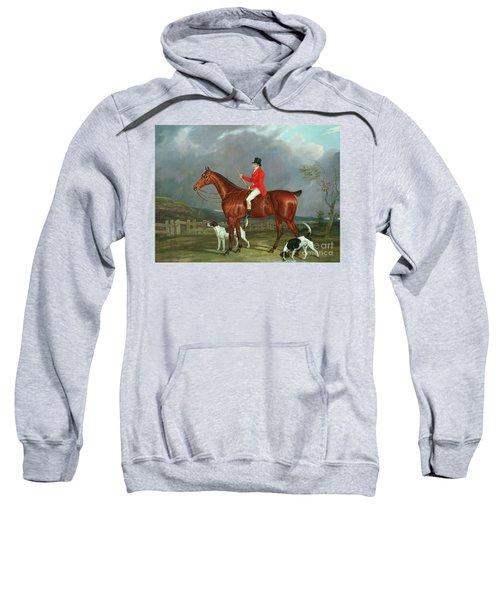 A Huntsman And Hounds, 1824  Sweatshirt
