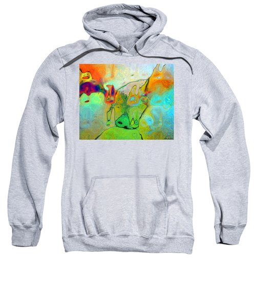 A Message For Miro Sweatshirt
