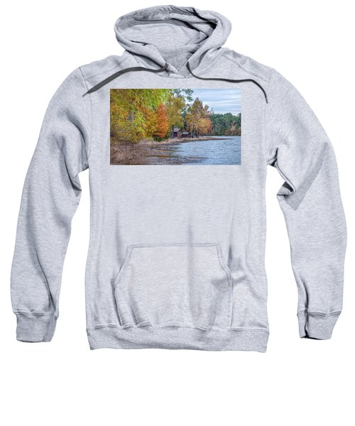 A Peaceful Place On An Autumn Day Sweatshirt