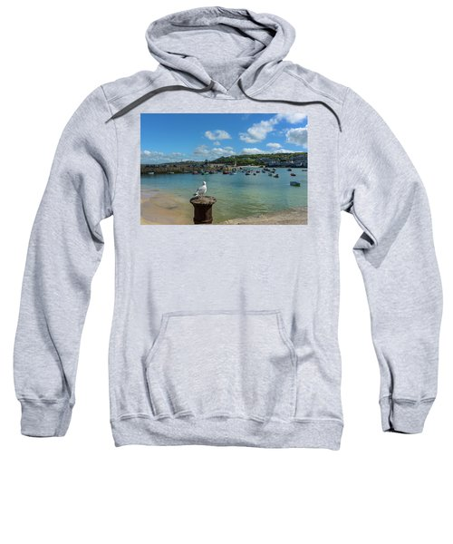 A Seagull Dreaming At The Harbour Sweatshirt