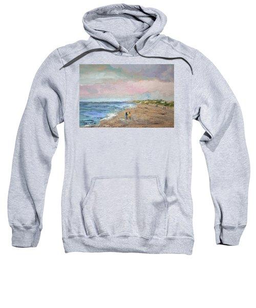 A Walk On The Beach Sweatshirt