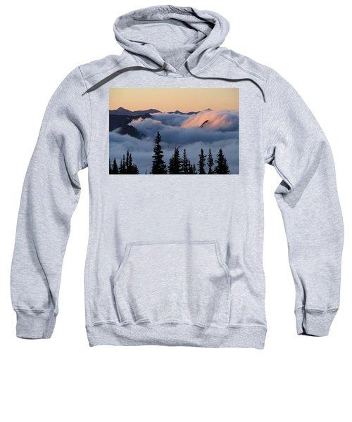 Above The Clouds Sunrise Sweatshirt