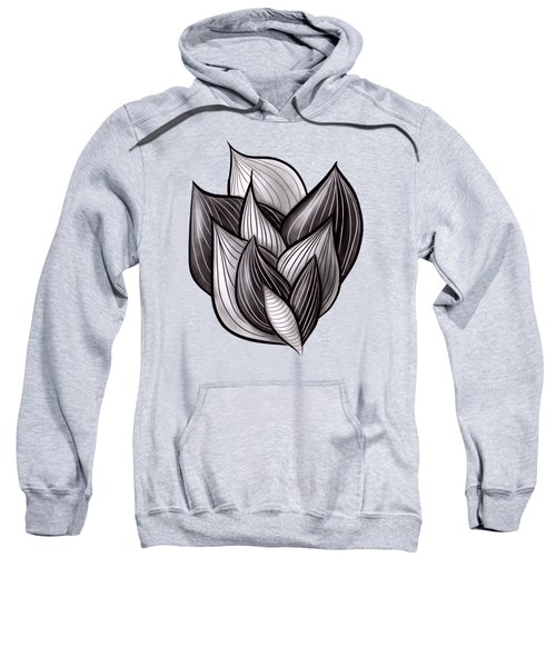 Abstract Art Floral Dynamic Geometric Shapes  Sweatshirt