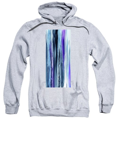 Abstract Flowing Waterfall Lines I Sweatshirt