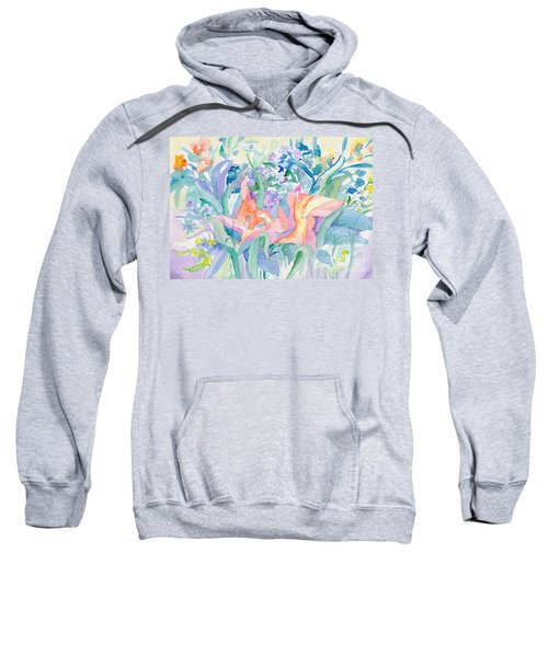 Abstract Lilies Sweatshirt