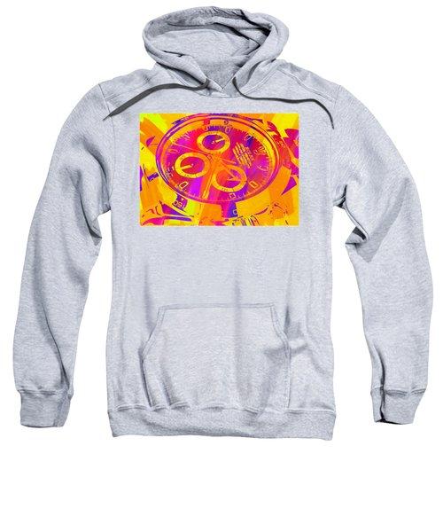 Abstract Rolex Digital Paint 5 Sweatshirt