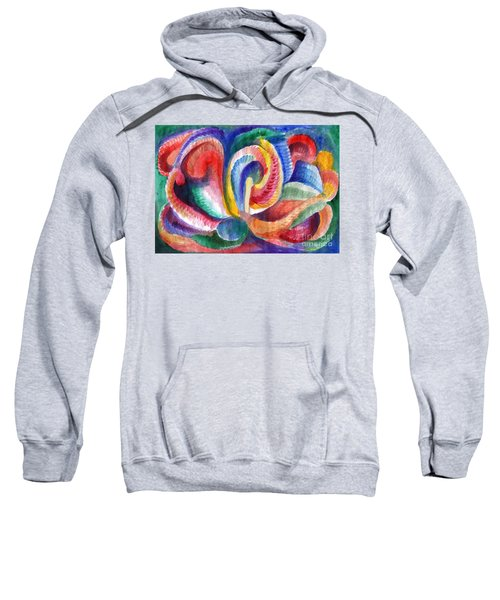 Abstraction Bloom Sweatshirt