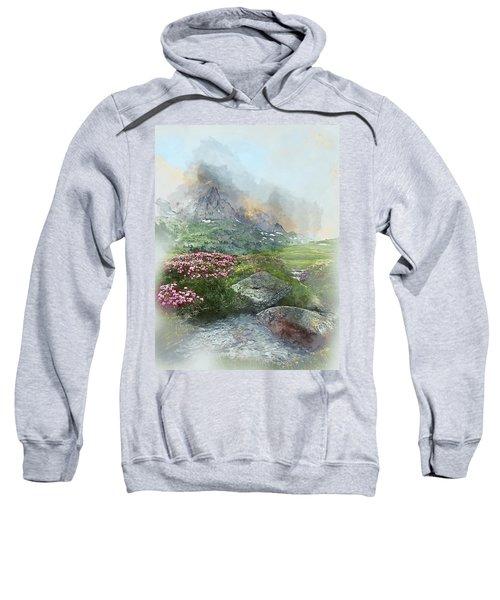 Afternoon Light In The Alps II Sweatshirt