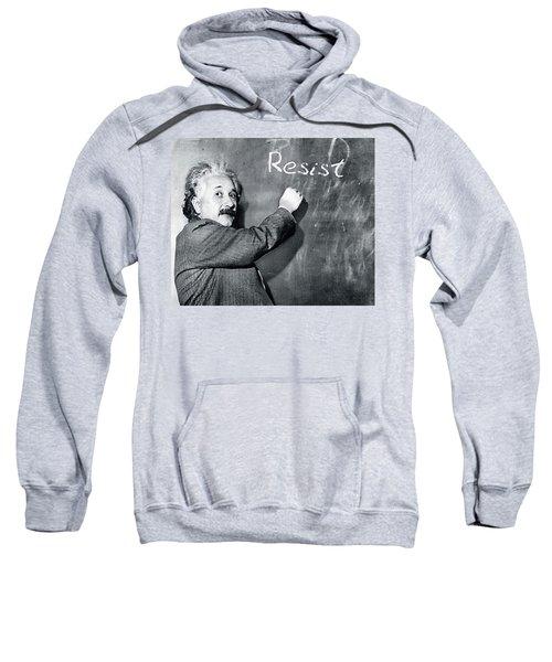 Albert Einstein Resistance Sweatshirt