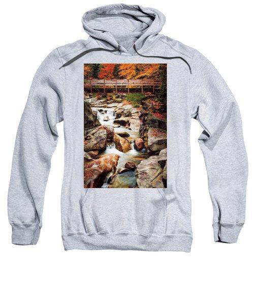 Ammonoosuc River, Autumn Sweatshirt
